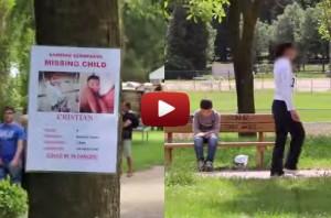 missing-child-park-bench-video