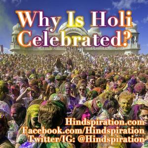 why-is-holi-celebrated